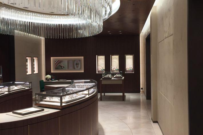 Harrods - Fine Watch Room